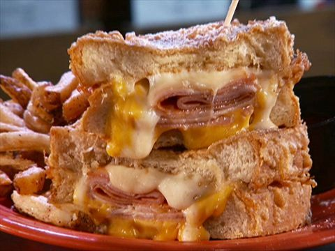 Melt Bar and Grill : Guy visits Cleveland's Melt Bar and Grill, where grilled cheese is king.