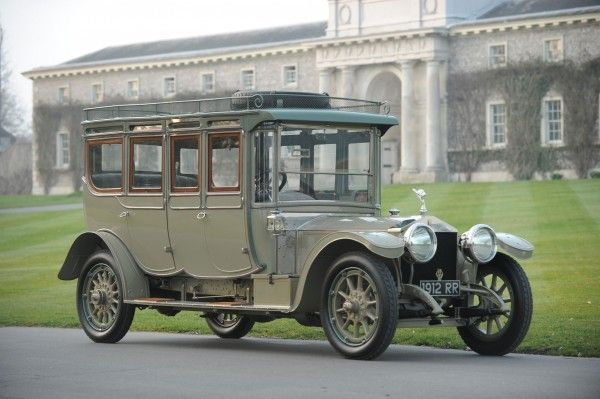 1912 Rolls-Royce 40/50hp Silver Ghost Double Pullman Limousine Auctioned for Record Breaking $7.2 Million