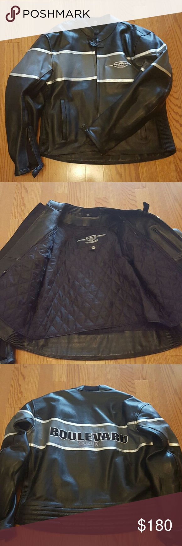 Men's Suzuki Motorcycle Jacket Used like new in excellent condition! Boulevard Suzuki Jackets & Coats