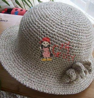 Схема шляпки крючком