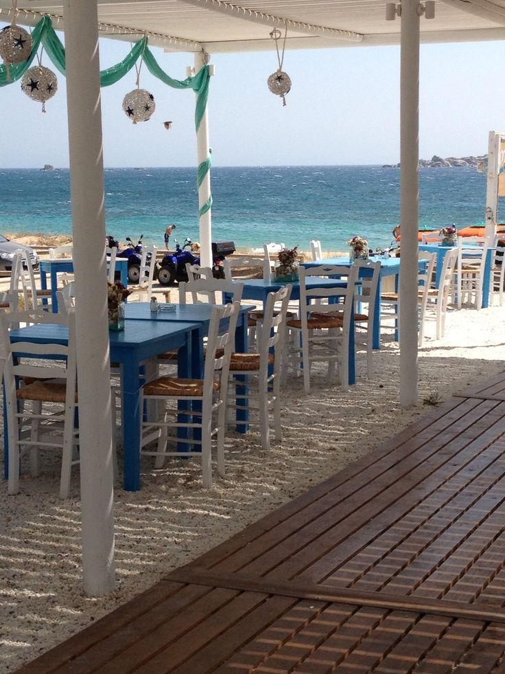 Plaka Beach, Naxos island, Greece