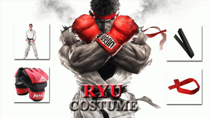 STREET FIGHTER RYU COSTUMES