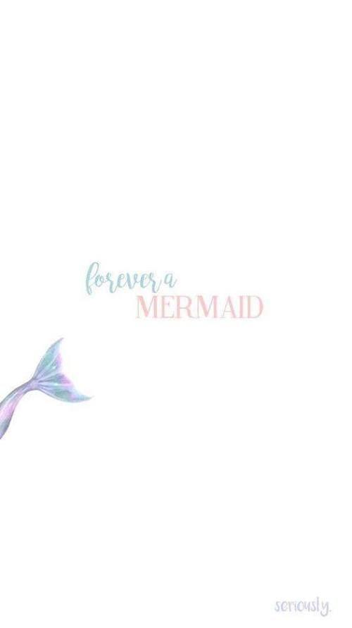 Imagem de mermaid, wallpaper, and forever