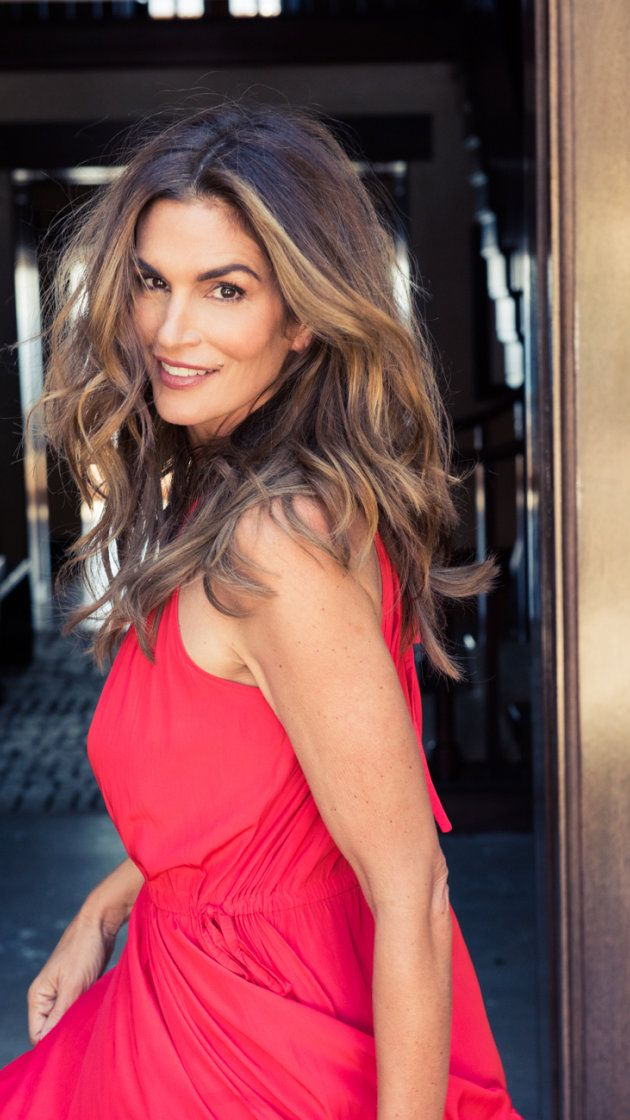 The Top 50 Most Iconic Hairstyles: At Home In Malibu With Cindy Crawford Via @AOL_Lifestyle