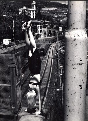 Helmut Newton, December 1996, Vogue Italia