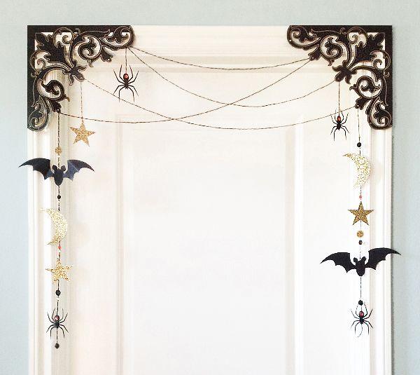 Halloween Scroll Deco-Dangler Home Decor by Rob & Bob. Make It Now in Cricut…