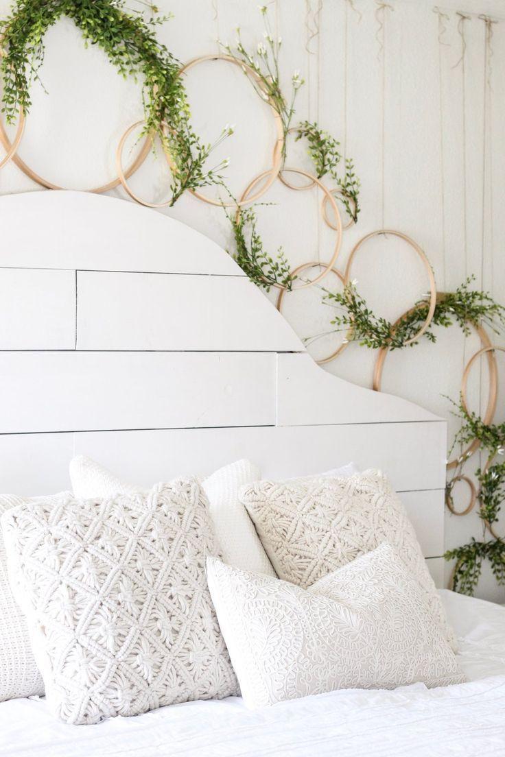 Cotton Stem Blog wreath wall spring decor shiplap headboard farmhouse bedroom.jpg
