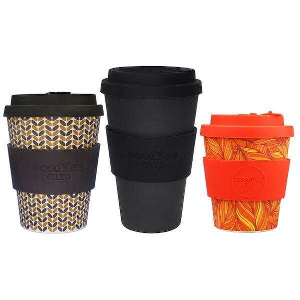 Now available in three sizes and many more styles check out our range of eCoffee Cups http://buff.ly/2jxo6n2 #ecoffee #sustainable #coffee #cup