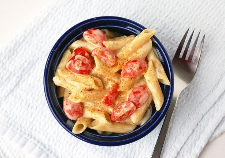 Vegan Cheezy Pasta Carbonara is the ultimate comfort food.: Pasta Carbonara, Cheezy Pasta, Vegans, Vegan Cheezy, Cheesy Pasta, Vegan Pasta, Homes, Vegan Food