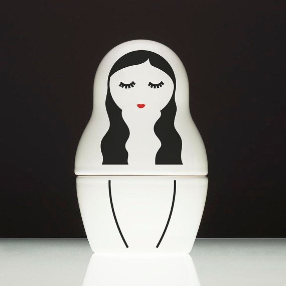 BABA Wawa  ceramic container by SIESTAdesign on Etsy, €35.00