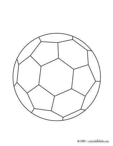Deze bal zou ik graag willen maken want dit is de basis voetbal die iedereen wel herkent.