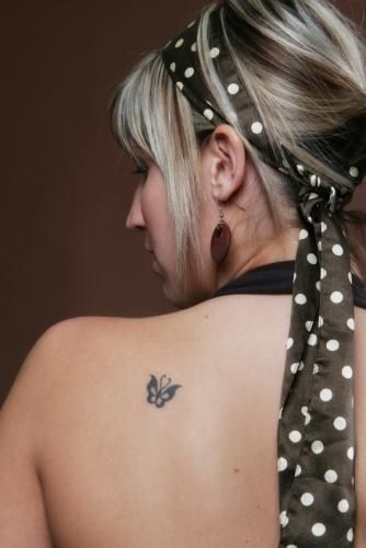 Tiny Butterfly #tattoo