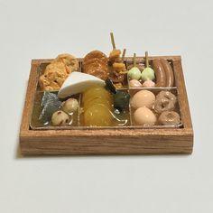 『おでん70円セール?』■おでん鍋■ミニチュアフード