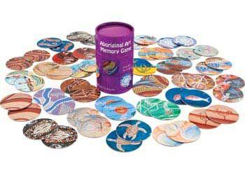 Matching Aboriginal Game – 56 pieces - Aboriginal Resources