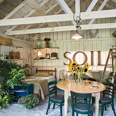 174 Best Decorating She Shed Images On Pinterest Garden Houses Sheds And Architecture