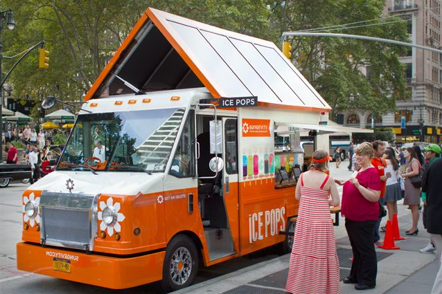 Kelli Anderson designed a popsicle truck. Could it be any better??