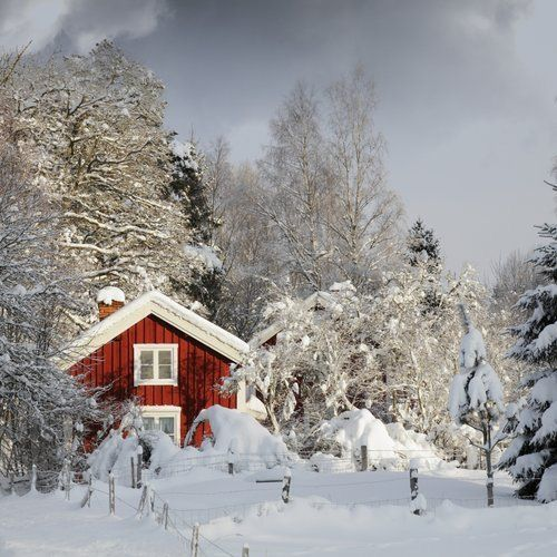 Winter in Sweden.