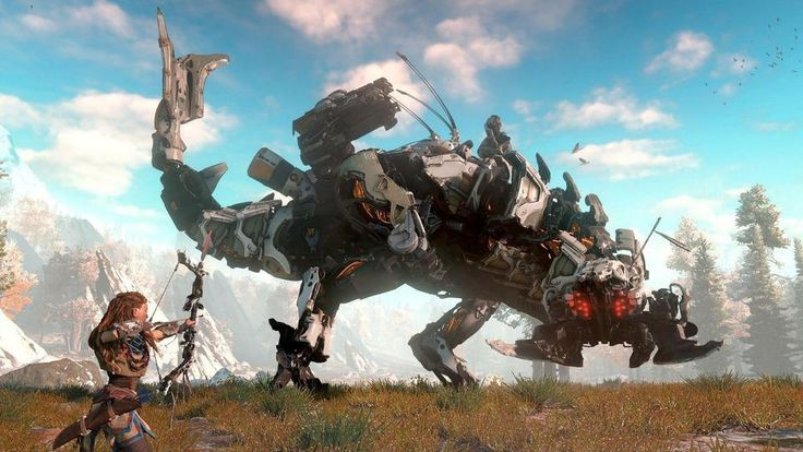 Horizon Zero Dawn, Horizon Zero Dawn Trailer,