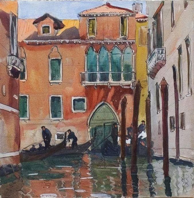Jane Peterson ~ Impressionist/Expressionist painter