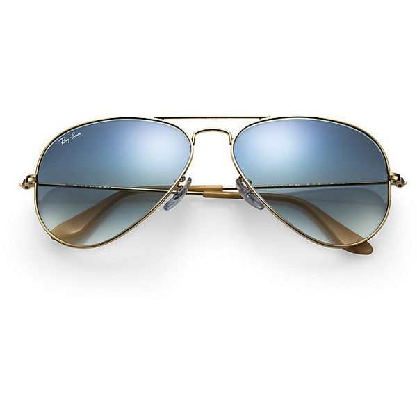 Ray-Ban Men's Aviator Gold Sunglasses, Blue Gradient Lenses - Rb3025 (46.920 HUF) ❤ liked on Polyvore featuring men's fashion, men's accessories, men's eyewear, men's sunglasses, glasses, accessories, men, mens aviators, ray ban mens sunglasses and mens sunglasses