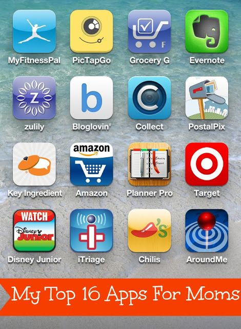 Confessions of a Semi-Domesticated Mama: My Top 16 iPhone Apps For Moms