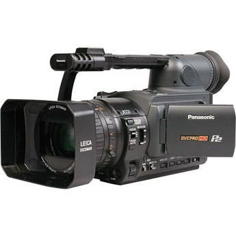 Panasonic AG-HVX200 3-CCD P2/DVCPRO HD Format Camcorder with Widescreen Aspect Ratio, 720p, 1080i and 24-Frame HDTV Recording
