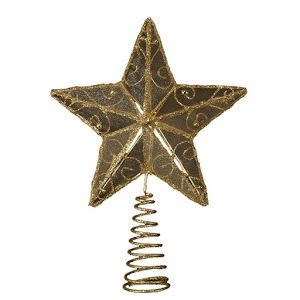 Gold Wire Star Treetop