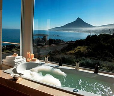 Twelve Apostles Hotel- Capetown- Dutch style hotel tucked between mountains and ocean