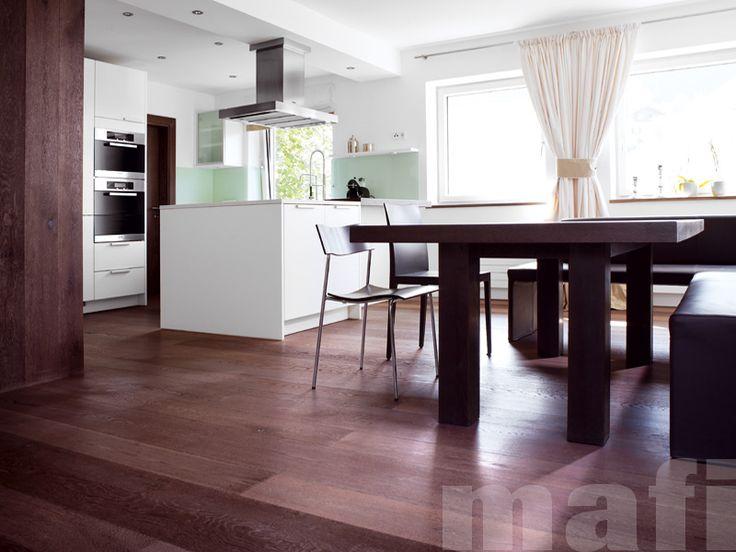 Oak Vulcano | Brushed White Oil | Kitchens | MAFI