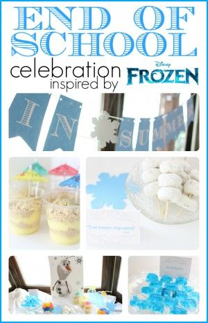 Frozen-inspired End Of School Celebration from I Can Teach My Child