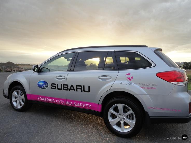 Subaru | Amy Gillett Foundation - AutoSkin