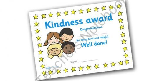 teaching a child how to win with kindness