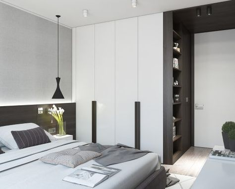 wooden accents for bedroom design