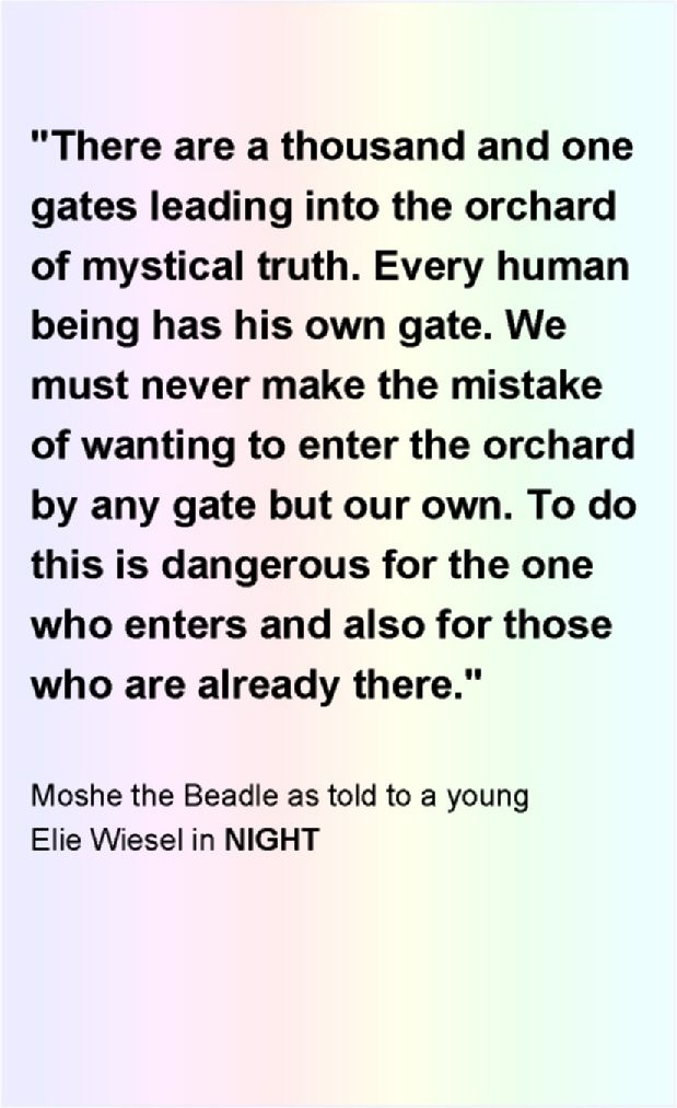 moch the beadle in the novel night by elie wiesel Moche' the beadle is the first character we are introduced to in elie wiesel's night he was the janitor, or the man who did everything, at the hasidic synagogue physically, he is described by elie on page 1: physically he was as awkward as a clown he made people smile, with his waif-like timidity.