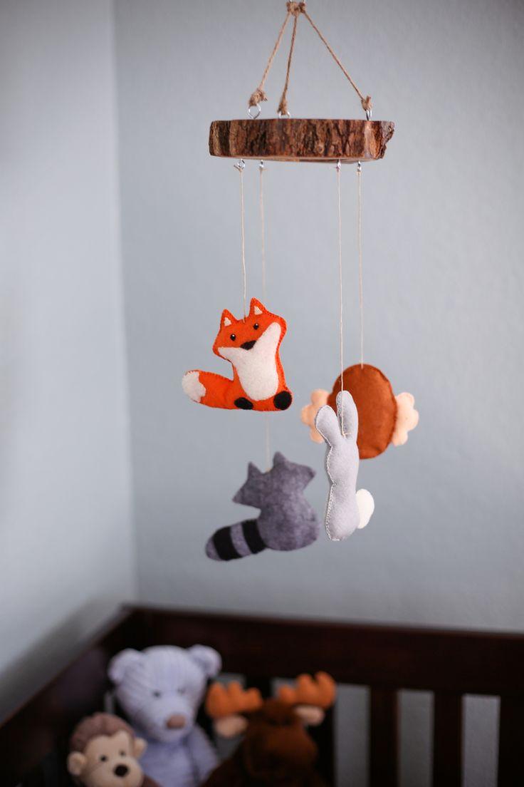 Best 25 Woodland mobile ideas on Pinterest Forest nursery