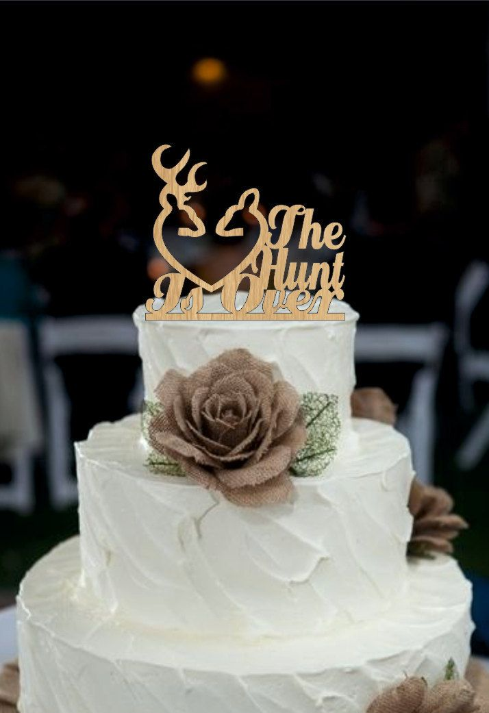 God Gave Me You CakeTopper Rustic Wedding Cake Topper Monogram Personalized Unique Decor