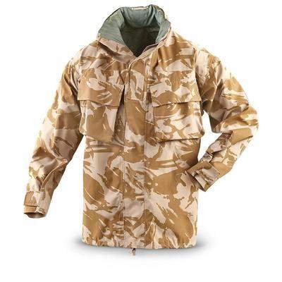Genuine British Army GORE TEX Desert Camo Jacket Coat waterproof surplus NEW
