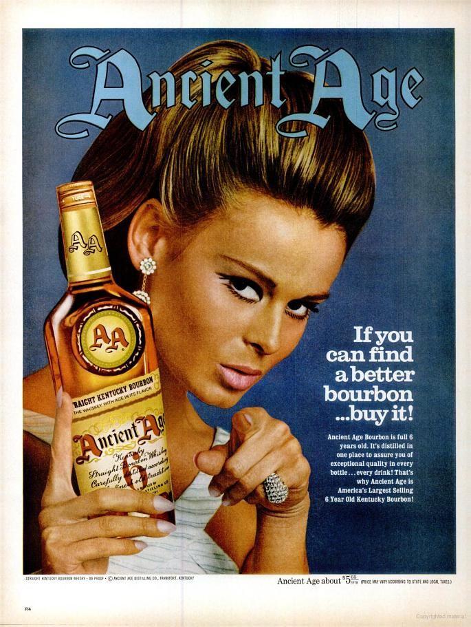 Ancient Age Bourbon (1967)