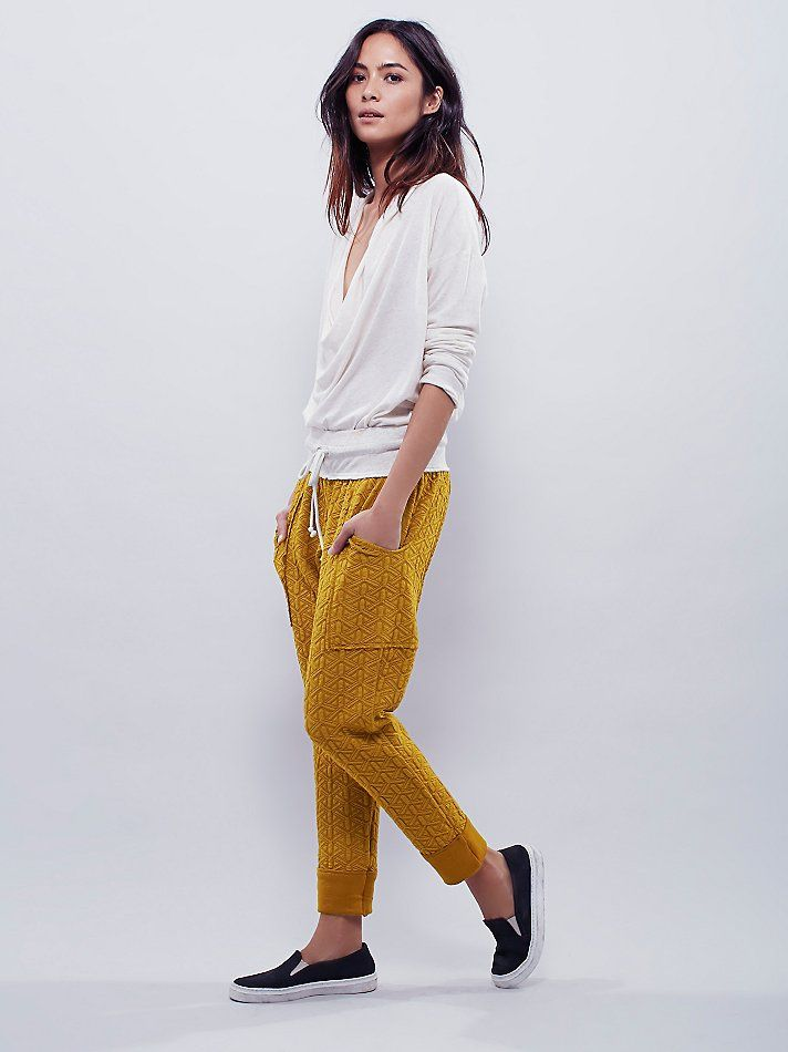 Intimately Quilted Sweat Pant at Free People Clothing Boutique