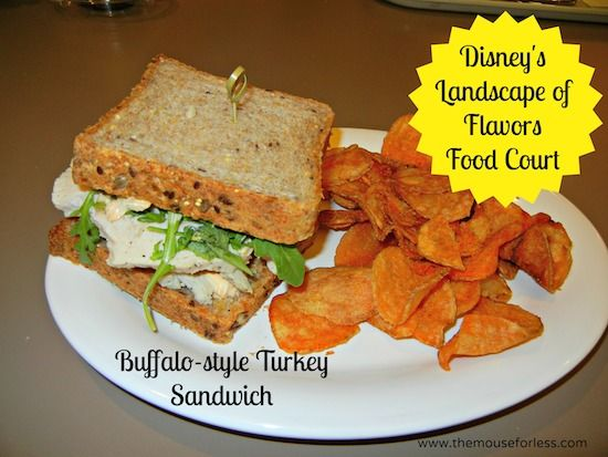 Buffalo-style Turkey Sandwich - Landscape of Flavors Food ...