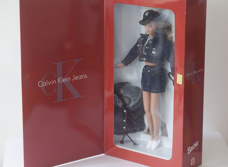 Bloomingdale's Limited edition Calvin Klein Barbie -1996