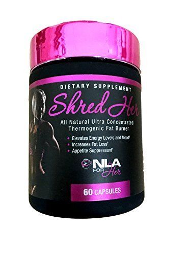 All Natural Ultra-Concentrated Thermogenic Fat Burner. Elevated Energy Levels And Mood. Increase Fat Loss. Appetite Suppressant. Shred Her is so effective due to our innovative natural ultra concent...