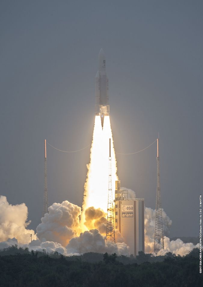 Photos: European rocket launched from South America – Spaceflight Now