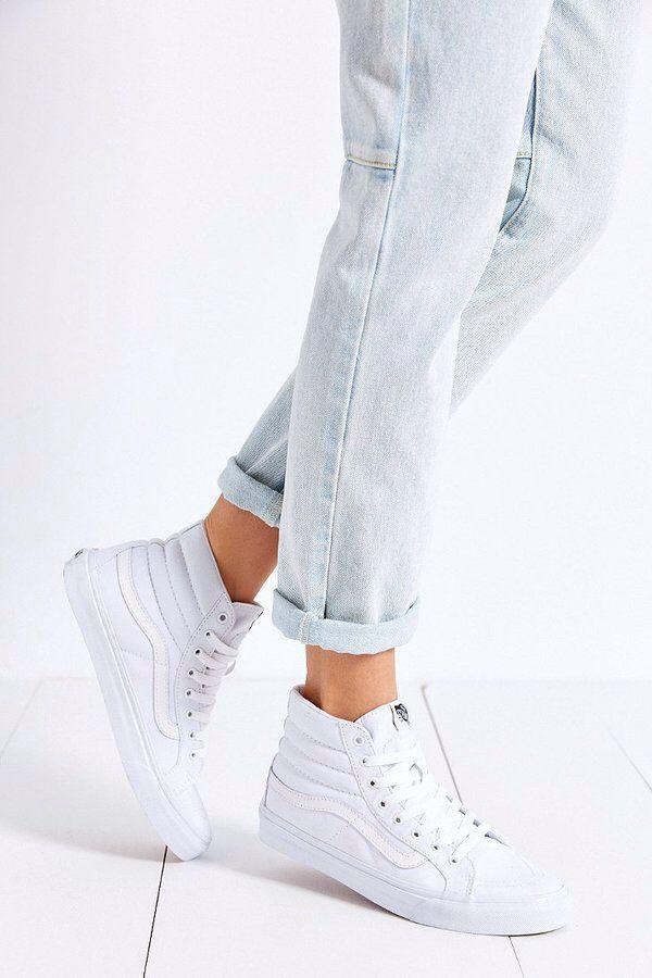 Pinterest // sophiekate... ℓσνєѕ ღ #Vans Sk8-Hi Slim Sneaker