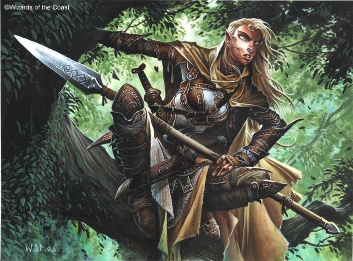Raças e Classes de RPG - Eduardo Teixeira: GUERREIROS RANGERS