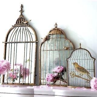 Torie Jayne: bird cage mirrors