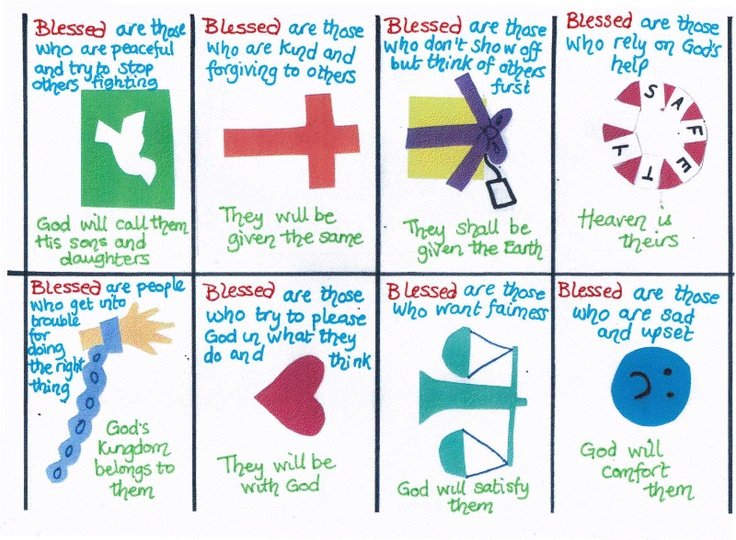 1000 images about bible lesson the beatitudes on pinterest children 39 s sunday school craft. Black Bedroom Furniture Sets. Home Design Ideas