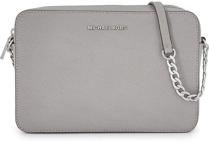 1cb36fc461a2 MICHAEL Michael Kors Jet Set Travel leather cross-body bag