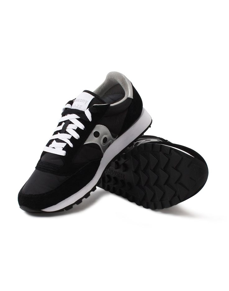 Saucony Jazz Original Trainer Black | Shop men's trainers, shoes and clothing at The Idle Man