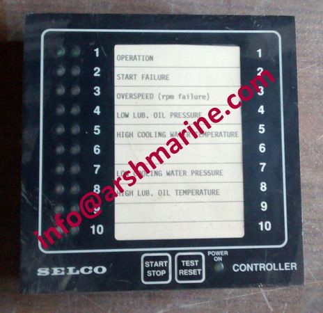 SELCO M2000 Series - Engine Controller www.arshmarine.com